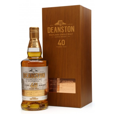 Deanston 40 year old  Cask Strength