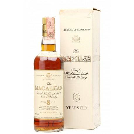 Macallan 08 year old Rinaldi Import for Italy